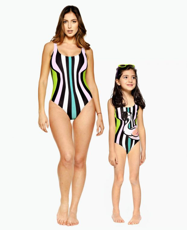 Girls Swimsuit SHAPE OF YOU