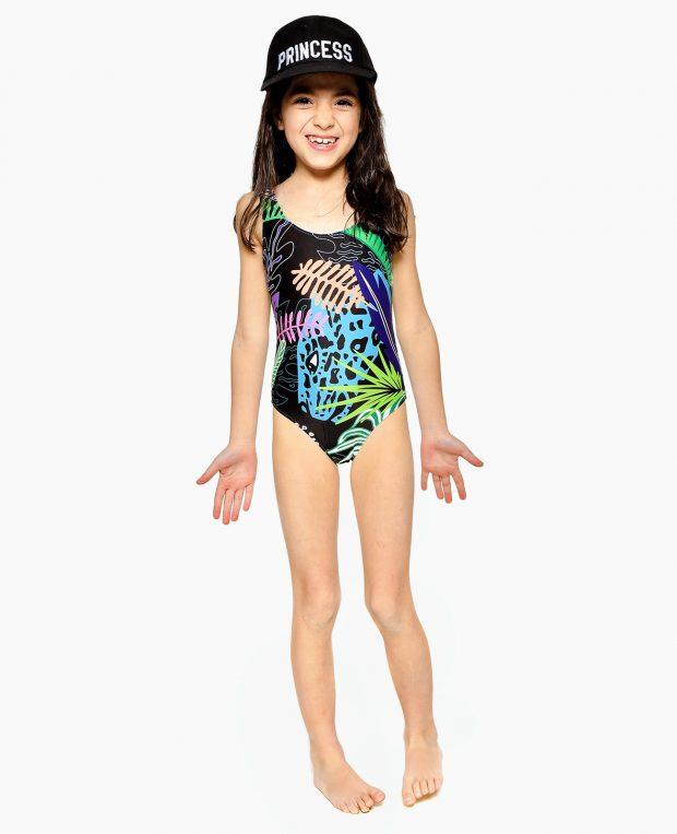 Girls Printed Swimsuit JUNGLE VIBE