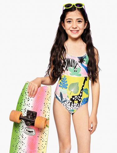 Girls Swimsuit SAFARI