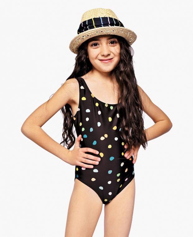 Girls Swimsuit PEBBLES