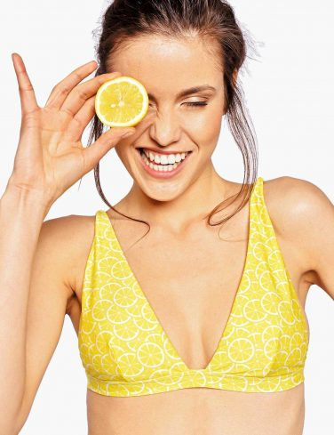 Women's Two-Piece Swimsuit LEMONS
