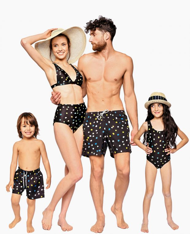 Women's Two-Piece Swimsuit PEBBLES