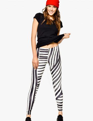 Women's Printed Leggings LINES