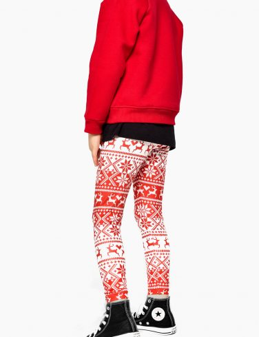 Girls Printed Leggings RUDOLF