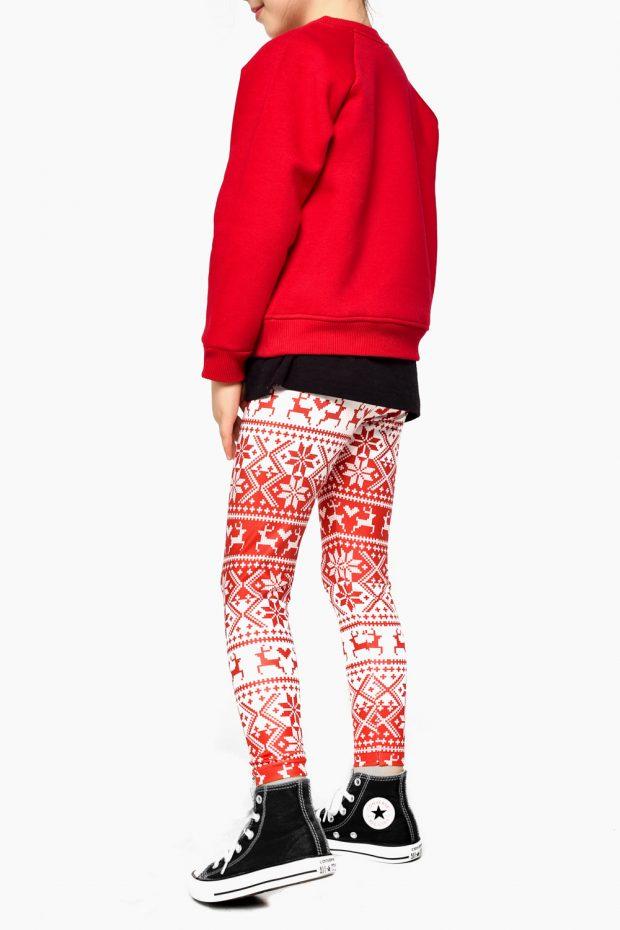 Girls Printed Leggings RUDOLF