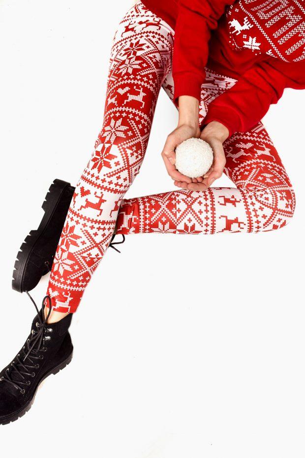 Women's Printed Leggings RUDOLF