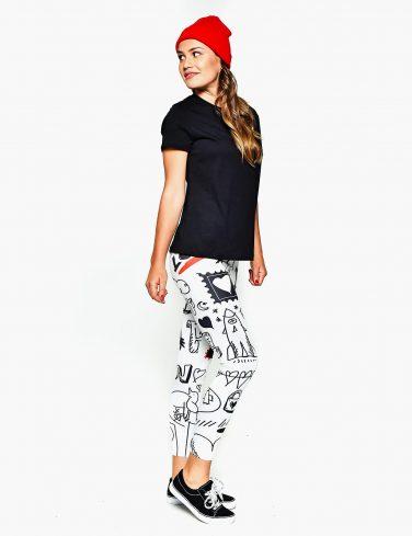 Women's Printed Leggings DOODLE