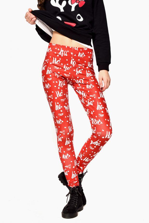 Women's Christmas Leggings HOHOHO