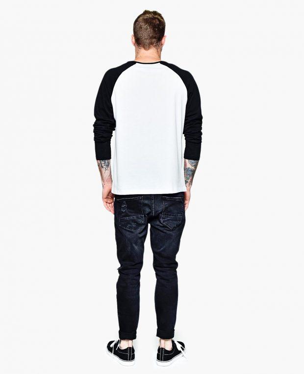 Men's Raglan Sleeve Shirt RAINBOW
