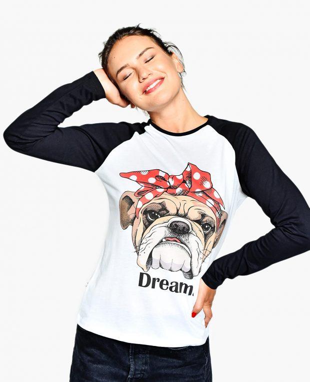 Women's Baseball Shirt DREAM