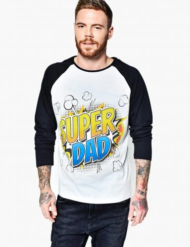 Men's Raglan Sleeve Shirt SUPER