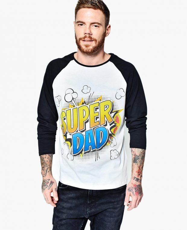 Men's Raglan Sleeve Shirt SUPER