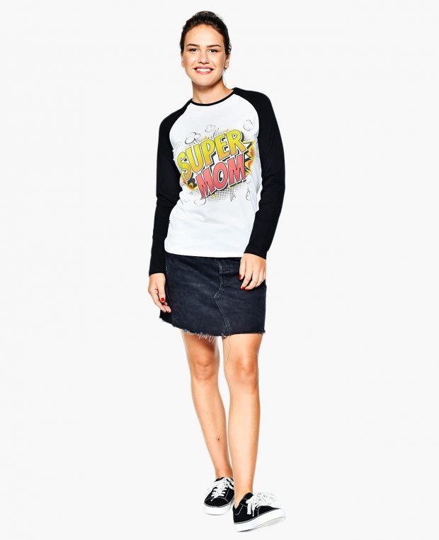 Women's Raglan Sleeve Shirt SUPER