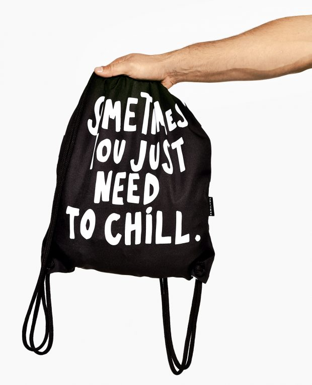 Drawstring Bag JUST CHILL
