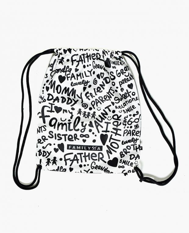 Drawstring Bag FAMILYSTA