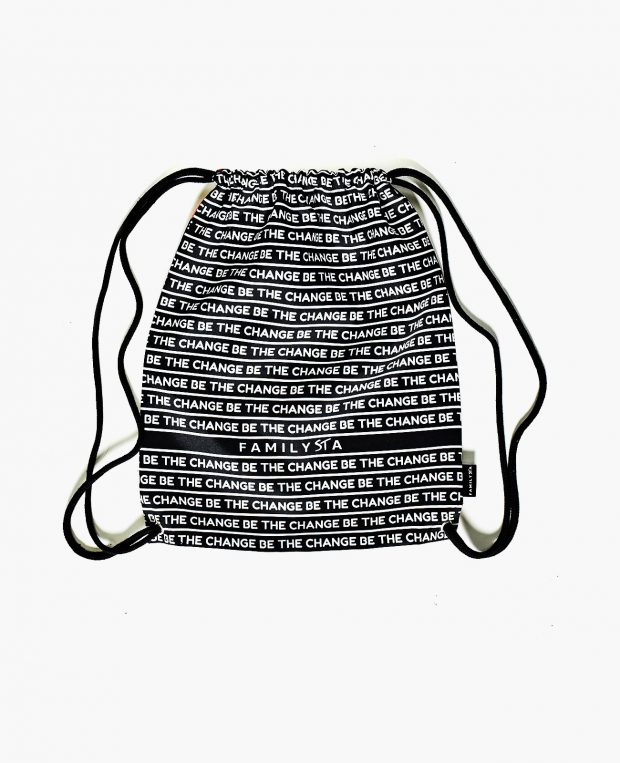 Drawstring Bag BE THE CHANGE