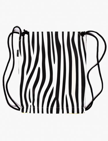 Drawstring Bag ZEBRA