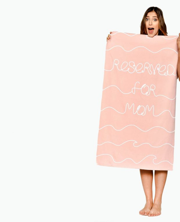 Beach Towel RESERVED FOR MOM