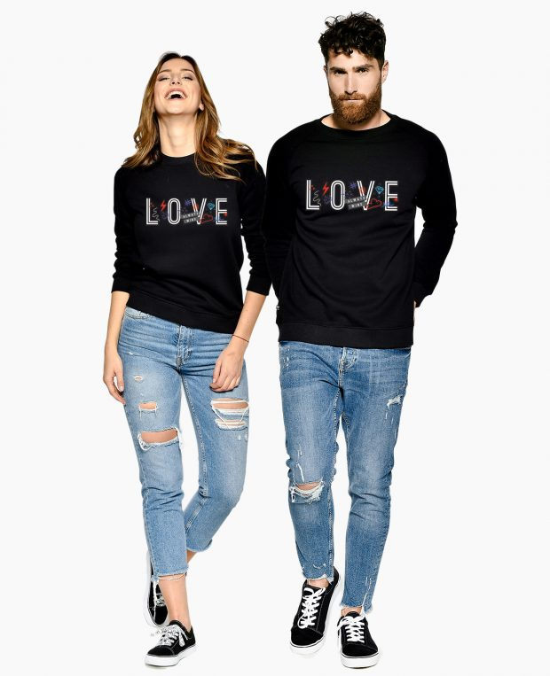 Women's Sweatshirt LOVE WINS