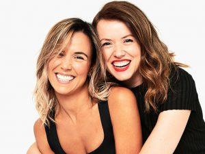 снимка на Михаела и Деси, създателите на FAMILYSTA