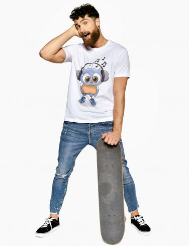 Men's Printed T-Shirt CHUCK