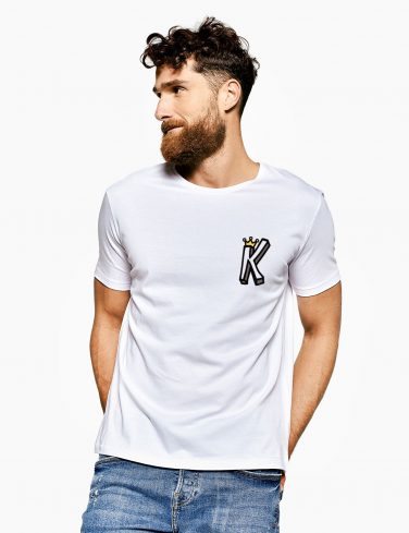 Men's Crew Neck T-Shirt KING CROWN