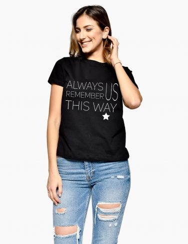 Women's T-Shirt ALWAYS REMEMBER
