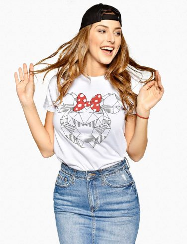 Women's Printed T-Shirt SHINE BRIGHT