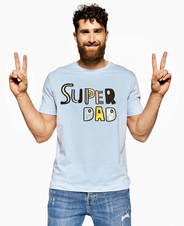 Men's T-Shirt SUPER DAD