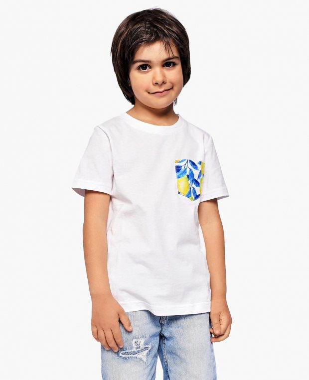 Kids Pocket T-Shirt LEMONS