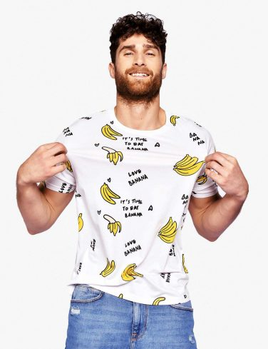 Men's Printed T-Shirt BANANAS