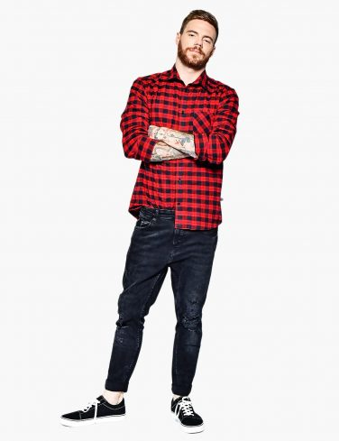 Men's Flannel Shirt MOST WANTED