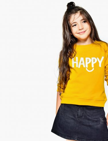 Kids Sweatshirt HAPPY