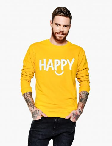 Men's Sweatshirt HAPPY