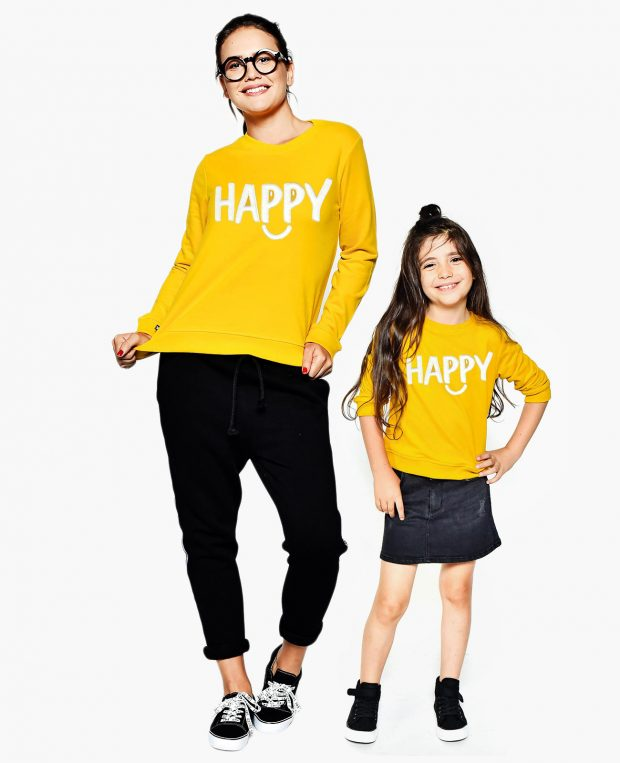 Women's Sweatshirt HAPPY