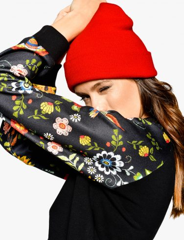 Women's Sweathsirt FLOWER POWER