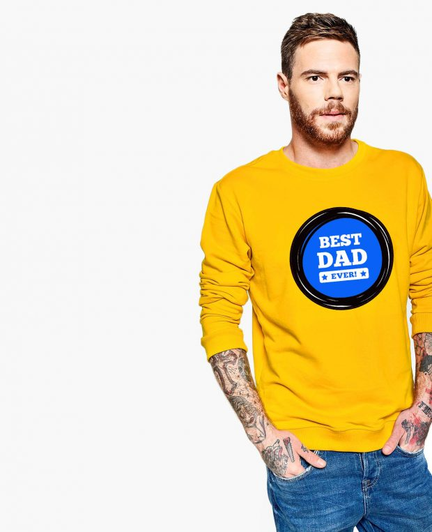 Men's Sweatshirt BEST DAD EVER