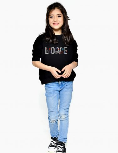 Kids Sweatshirt LOVE WINS