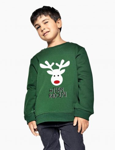 Kids Sweatshirt HAPPY RUDOLF