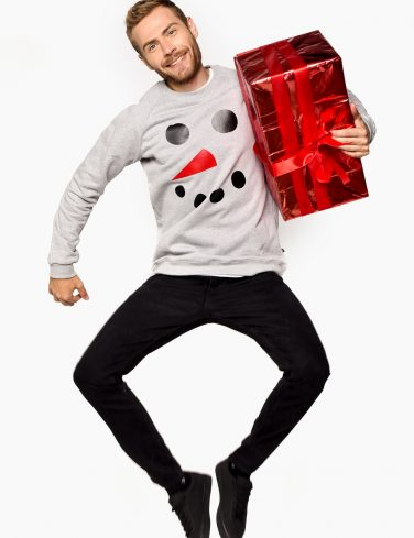 Men's Sweatshirt SNOWMAN