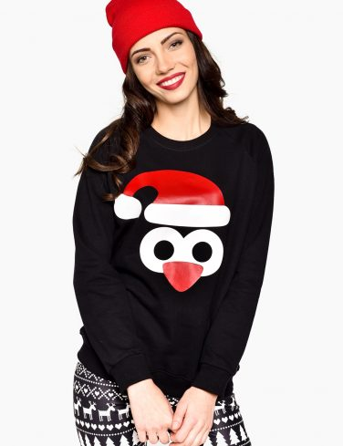 Women's Holiday Jersey PENGUIN