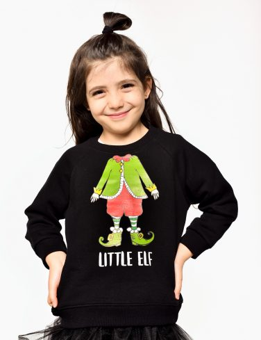Kids Christmas Jumper ELF