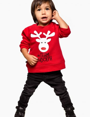 Kids Holiday Jersey TEAM RUDOLF