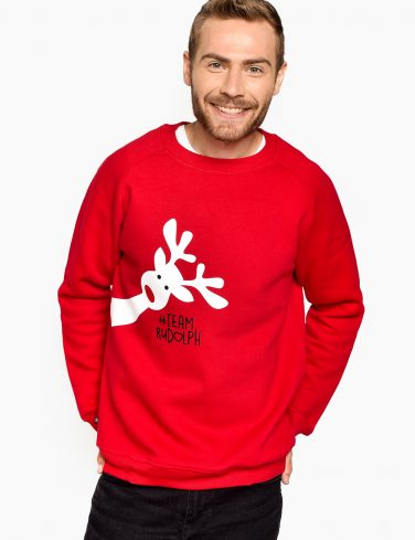 Men's Holiday Jersey TEAM RUDOLF