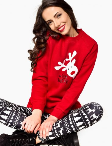 Women's Holiday Jersey TEAM RUDOLF
