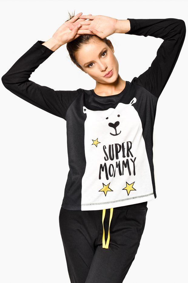 Women's Pajama Set SUPER MOM