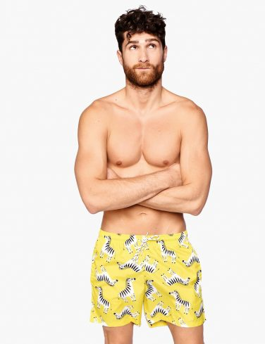 Men's Swim Shorts ZEBRA
