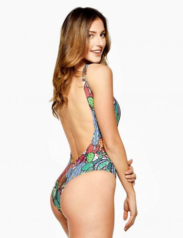 Women's Printed Swimsuit CACTUS