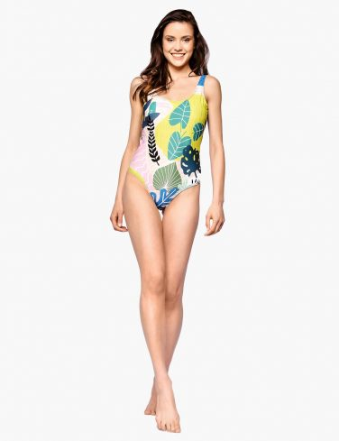 Women's Printed Swimsuit SAFARI