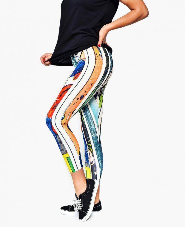 Women's Printed Leggings COMICS